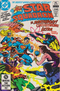 Cover Thumbnail for All-Star Squadron (DC, 1981 series) #22 [Direct-Sales]