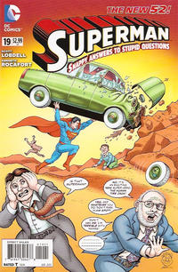 Cover Thumbnail for Superman (DC, 2011 series) #19 [MAD Magazine Cover]