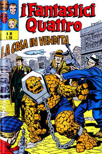 Cover Thumbnail for I Fantastici Quattro (Editoriale Corno, 1971 series) #89