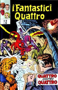 Cover Thumbnail for I Fantastici Quattro (Editoriale Corno, 1971 series) #92