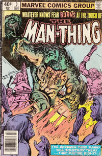 Cover Thumbnail for Man-Thing (Marvel, 1979 series) #3 [Newsstand]