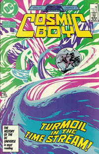 Cover Thumbnail for Cosmic Boy (DC, 1986 series) #3 [Direct]