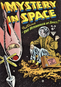 Cover Thumbnail for Mystery in Space (L. Miller & Son, 1955 ? series) #6