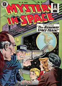 Cover Thumbnail for Mystery in Space (Thorpe & Porter, 1958 ? series) #10