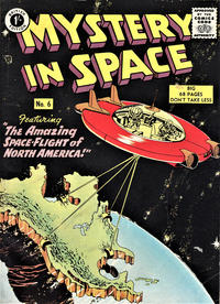 Cover Thumbnail for Mystery in Space (Thorpe & Porter, 1958 ? series) #6