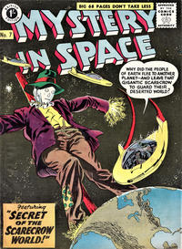 Cover Thumbnail for Mystery in Space (Thorpe & Porter, 1958 ? series) #7