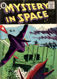 Cover Thumbnail for Mystery in Space (Thorpe & Porter, 1958 ? series) #8