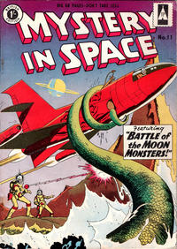Cover Thumbnail for Mystery in Space (Thorpe & Porter, 1958 ? series) #11