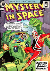 Cover Thumbnail for Mystery in Space (Thorpe & Porter, 1958 ? series) #13