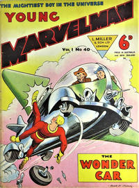 Cover Thumbnail for Young Marvelman (L. Miller & Son, 1954 series) #40