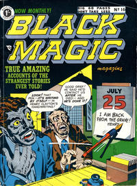 Cover Thumbnail for Black Magic Comics (Arnold Book Company, 1952 series) #16