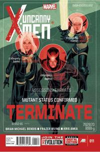 Cover Thumbnail for Uncanny X-Men (Marvel, 2013 series) #11