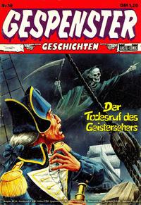 Cover Thumbnail for Gespenster Geschichten (Bastei Verlag, 1974 series) #19