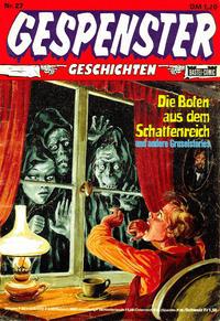 Cover Thumbnail for Gespenster Geschichten (Bastei Verlag, 1974 series) #27
