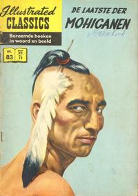 Cover Thumbnail for Illustrated Classics (Classics/Williams, 1956 series) #83 - De laatste der Mohicanen [HRN 163]