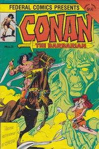 Cover Thumbnail for Conan the Barbarian (Federal, 1984 series) #2
