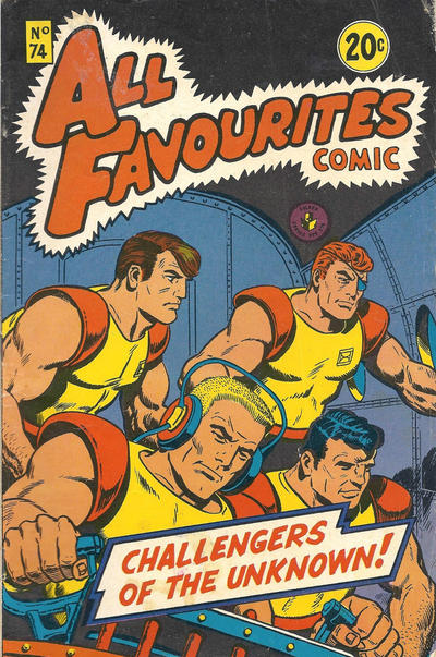 Cover for All Favourites Comic (K. G. Murray, 1960 series) #74