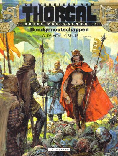 Cover for De werelden van Thorgal Kriss van Valnor (Le Lombard, 2010 series) #4 - Bondgenootschappen