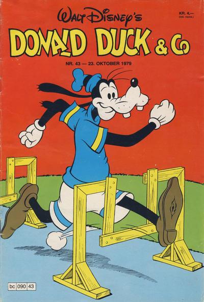 Cover for Donald Duck & Co (Hjemmet / Egmont, 1948 series) #43/1979