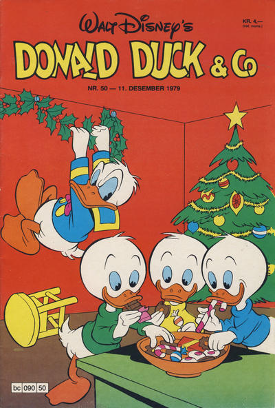 Cover for Donald Duck & Co (Hjemmet / Egmont, 1948 series) #50/1979