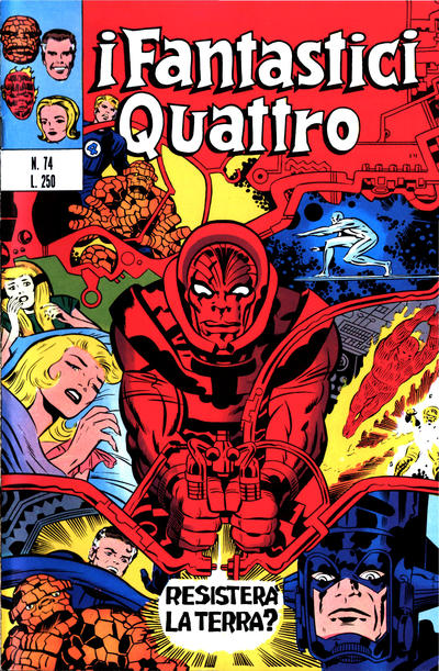Cover for I Fantastici Quattro (Editoriale Corno, 1971 series) #74