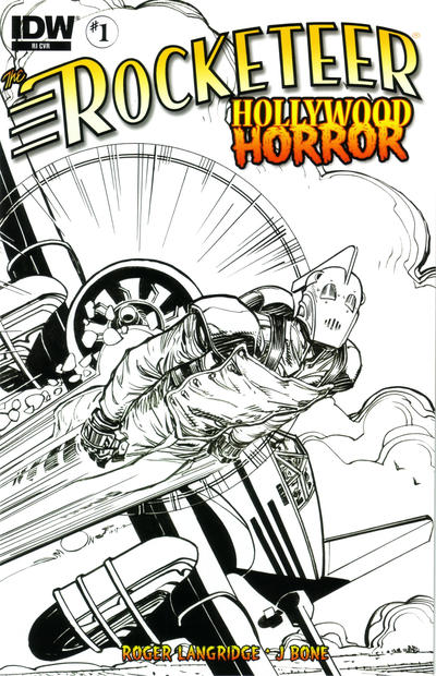 Cover for The Rocketeer: Hollywood Horror (IDW, 2013 series) #1