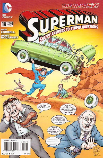Cover for Superman (DC, 2011 series) #19 [Direct Sales]