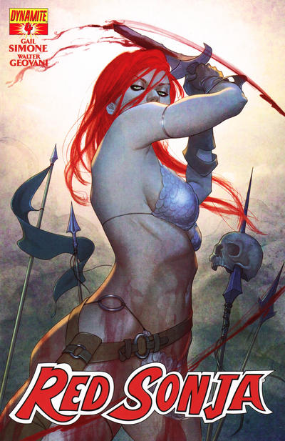 Cover for Red Sonja (Dynamite Entertainment, 2013 series) #4 [Variant Cover]