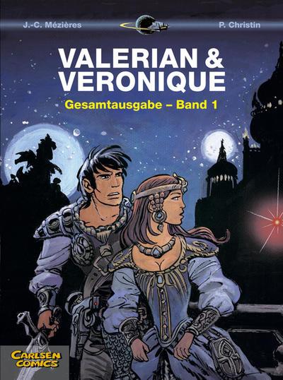 Cover for Valerian & Veronique Gesamtausgabe (Carlsen Comics [DE], 2010 series) #1