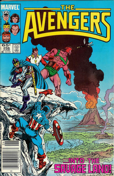 Cover for The Avengers (Marvel, 1963 series) #256 [Direct]