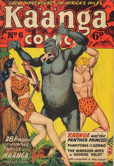 Cover for Kaänga Comics (H. John Edwards, 1950 ? series) #6
