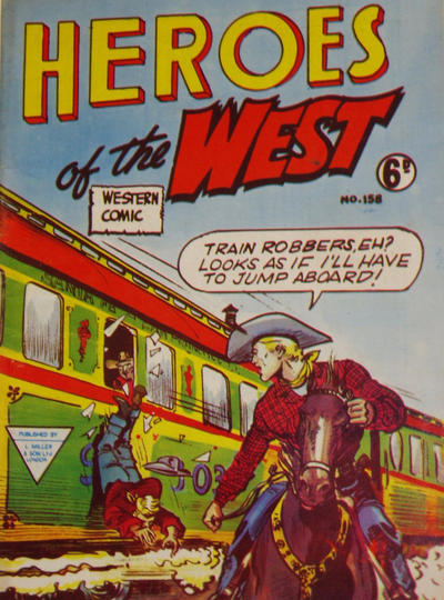 Cover for Heroes of the West (L. Miller & Son, 1959 series) #158