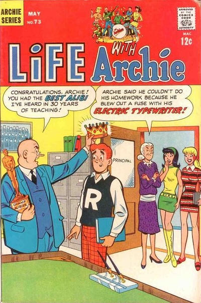 Cover for Life with Archie (Archie, 1958 series) #73