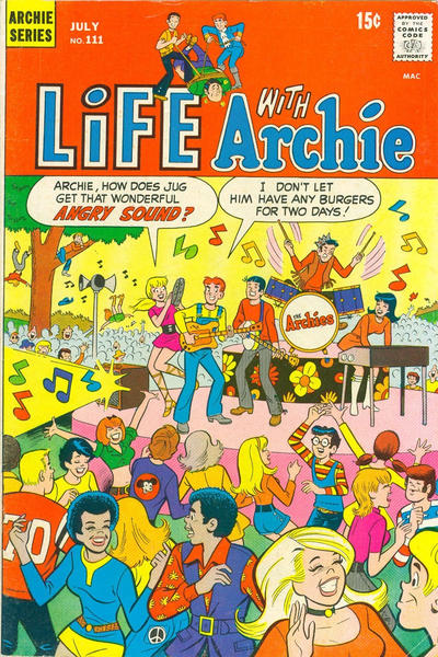 Cover for Life with Archie (Archie, 1958 series) #111