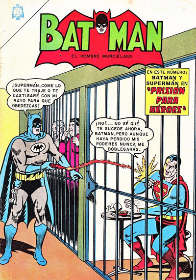 Cover for Batman (Editorial Novaro, 1954 series) #270