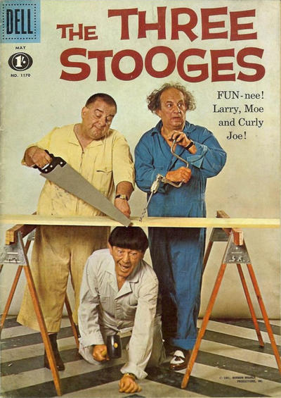 Cover for Four Color (Dell, 1942 series) #1170 - The Three Stooges