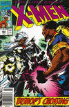 Cover Thumbnail for The Uncanny X-Men (1981 series) #283 [Australian Newsstand]