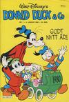 Cover for Donald Duck & Co (Hjemmet / Egmont, 1948 series) #1/1980