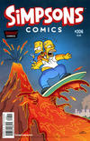 Cover for Simpsons Comics (Bongo, 1993 series) #206
