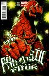 Cover for Fantastic Four (Marvel, 2013 series) #2 [Kubert]