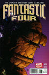 Cover for Fantastic Four (Marvel, 2013 series) #5 [Deodato]