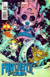 Cover for Fantastic Four (Marvel, 2013 series) #1 [Marvel Babies Variant by Skottie Young]