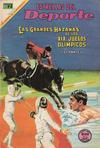 Cover for Estrellas del Deporte (Editorial Novaro, 1965 series) #60