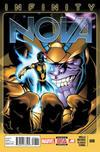 Cover for Nova (Marvel, 2013 series) #8 [Ed McGuinness Cover]