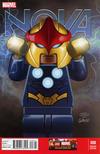 Cover Thumbnail for Nova (2013 series) #8 [Leonel Castellani LEGO Variant Cover]