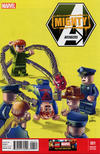 Cover for Mighty Avengers (Marvel, 2013 series) #1 [Leonell Castellani LEGO Variant Cover]