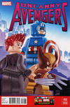 Cover for Uncanny Avengers (Marvel, 2012 series) #12 [Leonel Castellani LEGO Variant Cover]