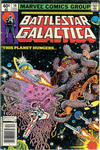 Cover for Battlestar Galactica (Marvel, 1979 series) #10 [Newsstand Edition]