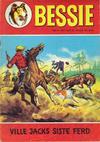 Cover for Bessie (Romanforlaget, 1970 series) #8/1971