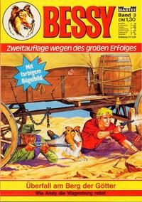 Cover Thumbnail for Bessy (Bastei Verlag, 1976 series) #3